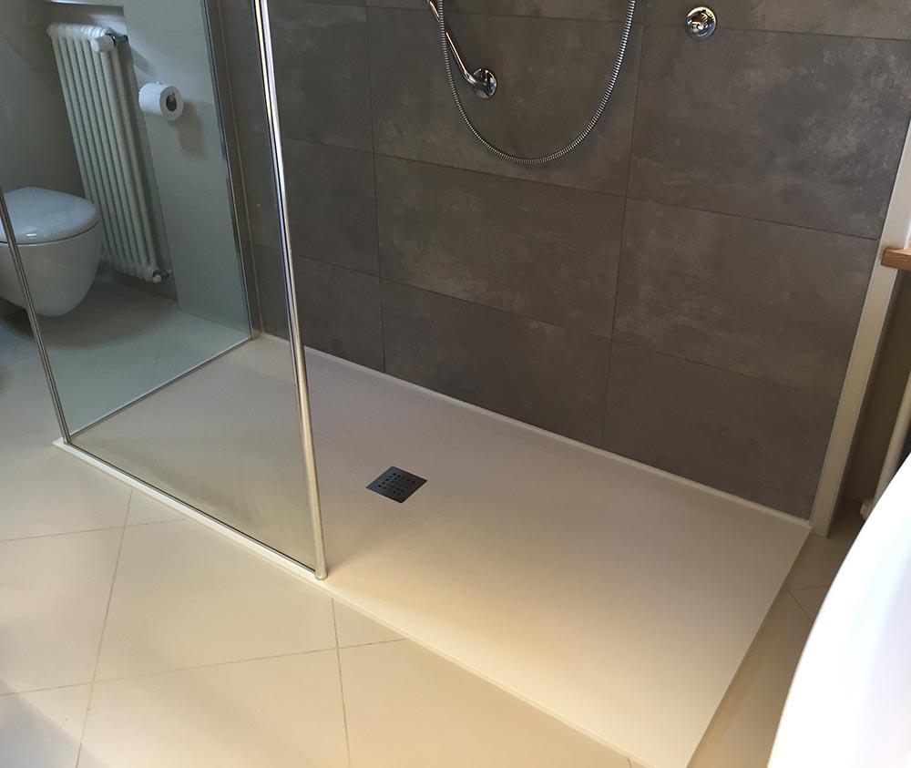 Piatto doccia filo pavimento piatto doccia per disabili - Piatto doccia incassato nel pavimento ...