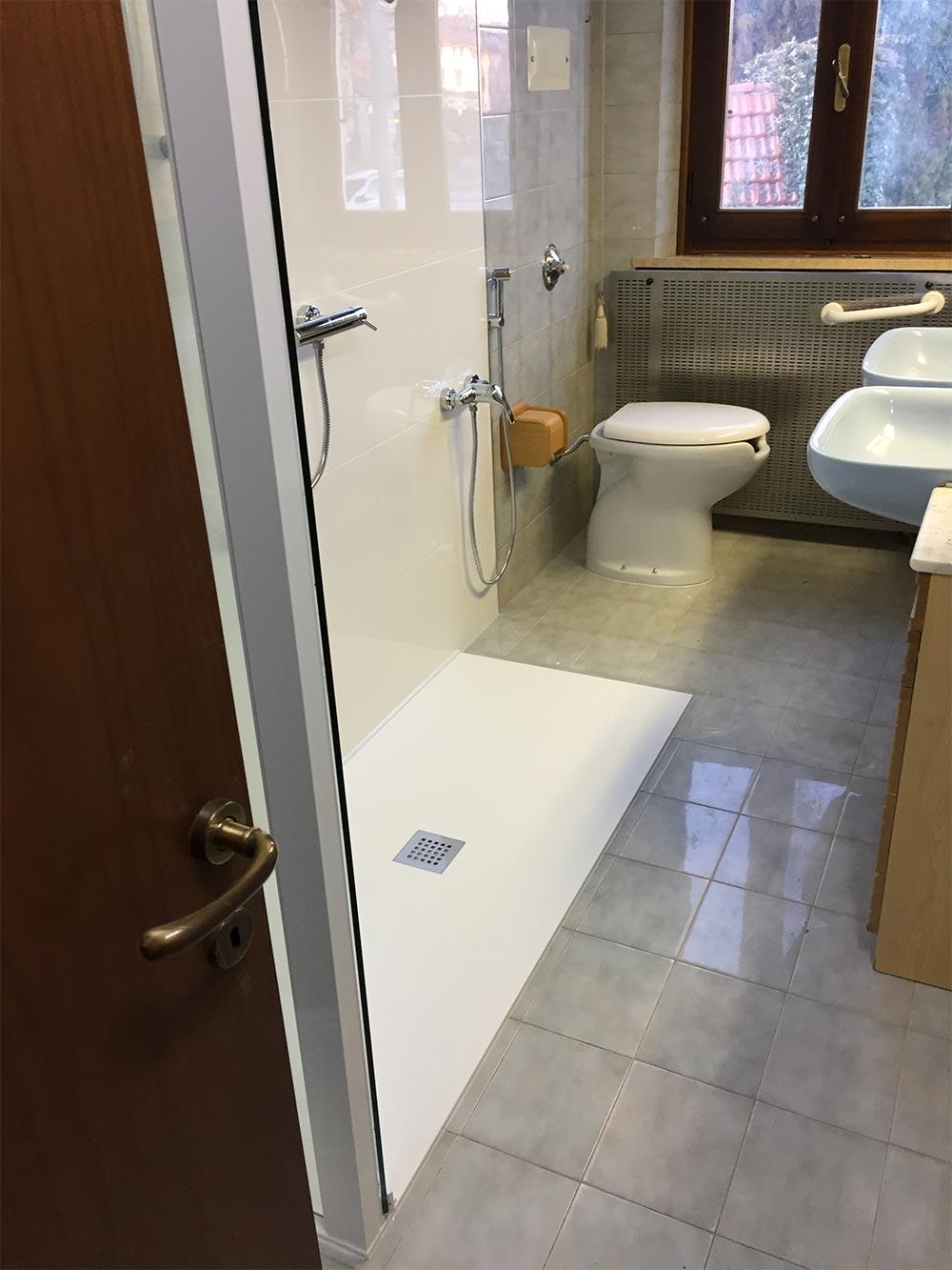 Veneta vasche forniture ed installazione vasche da bagno - Paraspruzzi per vasca da bagno ...